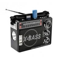 Радиоприемник XB-201 (USB/SD/FM) черный Waxiba
