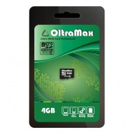 Карта памяти microSDHC OltraMax 4GB Class 4 без адаптера
