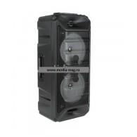 Колонка портативная 2*6.5 (ZSQ-6205W) (Bluetooth/USB /FM/микрофон/пульт