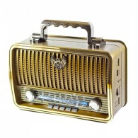 Радиоприемник MD-1909BT (Bluetooth/USB /SD/microSD/FM/акб/4*R20) кор Kemai
