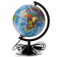 Глобус с подсветкой 21см полит карта (1072895)