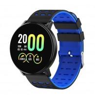 Фитнес-браслет MF999 с измерением давления синий