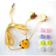 Наушники MP3 Мишки вакуумные
