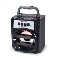 Колонка портативная MS-312BT (Bluetooth/USB /SD/FM) черная