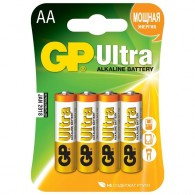 Батарейка GP LR6 Ultra Alkaline BL 4/40/320