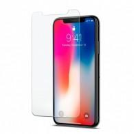 Защитное стекло Activ для iPhone ХR прозрачное (черная рамка)