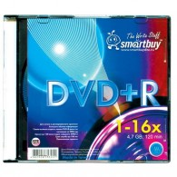 SmartBuy DVD+R 4.7Gb 16x Slim