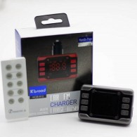 MP3 FM модулятор автомоб. KTS KCB-912 (Bluetooth, USB)