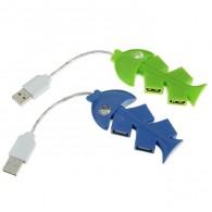 Хаб USB 4 порта Рыбка (548094)
