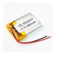 Аккумулятор li-pol 3.7V 280 mAh (60*20*25) литий-полимер