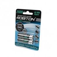 Аккумулятор Robiton R6 2600 BL 2\50 предзаряд