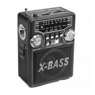 Радиоприемник XB-331 (USB/SD/FM/фонарь) черный Waxiba