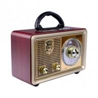 Радиоприемник М-110BT (Fm/BT/microSD/AUX/акб/2*R20) Meier