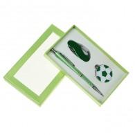 Подарочный набор (ручка+нож с карабином+брелок-мяч) (1689533)