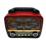 Радиоприемник EPE FP-231 (Bluetooth/USB /microSD/FM) красный