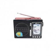 Радиоприемник EPE FP-1337U (USB /microSD/FM) крас