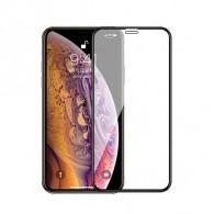 Защитное стекло 2.5D для iPhone 12\ 12 Pro черное (119312)