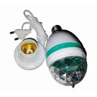 """Диско-лампочка Е27 RGB """"YB-27-1"""" на подставке"""