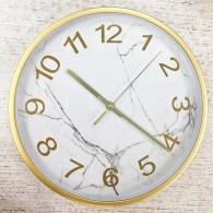"""Часы настенные R8260IRE (1АА) """"мрамор"""""""