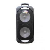 "Колонка портативная 2*12"" EL-1212 (Bluetooth/USB /microSD/FM) черная"