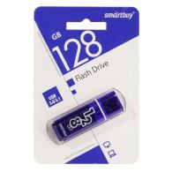 Флэш-диск SmartBuy128GB USB 3.0 Glossy синий