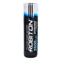 Аккумулятор Robiton 3.6v 2600mAh ICR Li18650 с защитой