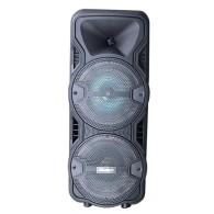 "Колонка портативная 8"" OM-S88ch (Bluetooth/USB /microSD/FM/ПДУ/ 1 микр) черная"