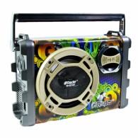 Радиоприемник RD-057U (Fm/BT/USB/microSD/акб/220V) цветной RSDO