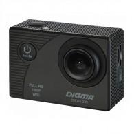 Экшн-камера Digma DiCam 235 (2160 x 3840, micro SD до 32Gb)