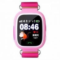 Smart-часы Q80 Hello детские с GPS трекером розовые