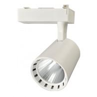 Трековый прожектор Jazzway PTR 0330 30w 4000K IP40 белый