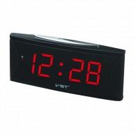 Часы электронные 719-1 (220V+2*ААА, крас.цифры)