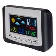 """Погодная станция """"Color"""" (время, темп., датч.ул.темп., влажность) (PF-S3332CS)"""
