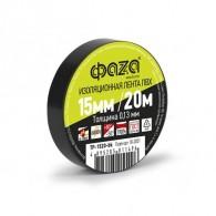 Изолента Фаzа TP-1520 черный