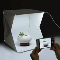 Фотобокс с LED освещением 40х40х40см (питание от microUSB, кабель не в компл)