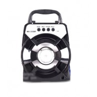 Колонка портативная MS-235BT (Bluetooth/USB /SD/FM/дисплей) черная