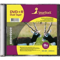 SmartTrack DVD+R 8.5Gb 8x двуслойный Slim
