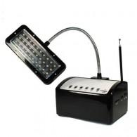 Радиоприемник iStyle LM300 (220V, accu 1100mAh,4*R20, USB+наст.светильник)