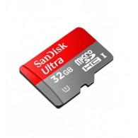 Карта памяти microSDHC SanDisk 32Gb Class 10 UHS-1 Ultra 80MB/s с адап