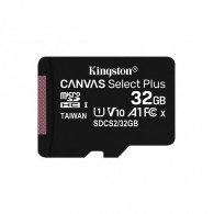 Карта памяти microSDHC Kingston 32Gb Class10 CanvasSelect + A1 без адап