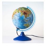 Глобус с подсветкой 25см физическая карта с рельефом (1072892)