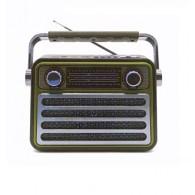 Радиоприемник М-182ВТ (Bluetooth/USB/microSD/Fm/AUX/акб) золото Meier