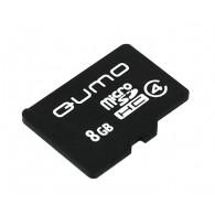 Карта памяти microSDHC Qumo 8GB Class 4 без адаптеров