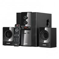 Колонки SVEN MS-1820 черный ( 18W+2*11W, SD, USB, ПДУ)