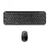 """Комплект SmartBuy SBC-642383AG-К беспроводной черный """"Соты"""""""