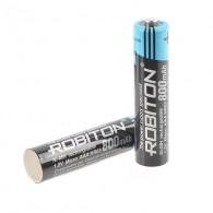 Аккумулятор Robiton R03 800mAh BL 2\50 (низкотемпературные, до -40С)