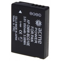 Аккумулятор в/к. Acme Power BCG10 (850mAh 3,6v) Li-ion для Panasonic