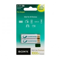 Аккумулятор Sony R03 900mAh Ni-Mh BL 2/20 предзаряженные