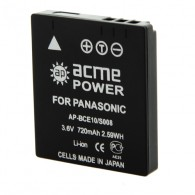 Аккумулятор в/к. Acme Power S008/BCE 10 (800mAh 3,6v) Li-ion для Panasonic