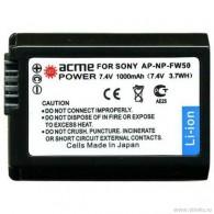 Аккумулятор в/к. Acme Power NP-FW50 (850mAh 7,4v) Li-ion для Sony